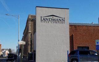 Landmann title Company building